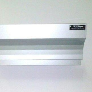 Mod. Egizia sez. 38 in alluminio satinato