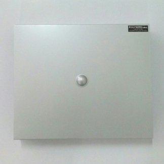 Coprimuro in alluminio satinato