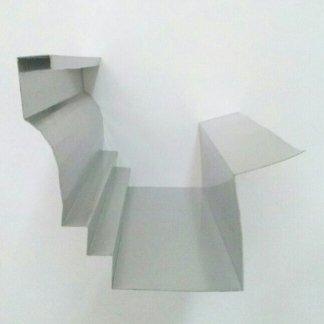Mod. Europa sez. 50 in alluminio satinato