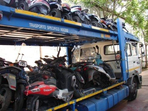 trasporto veicoli per la demolizione