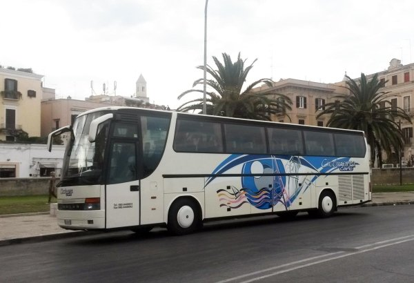 SETRA BUS WITH DRIVER