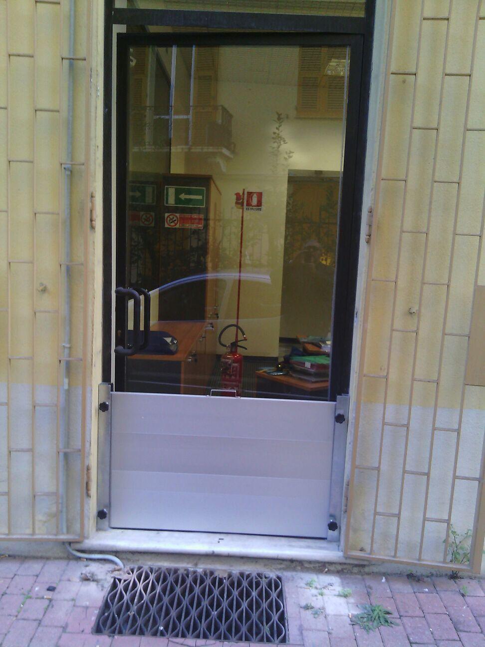 veduta del negozio dall`esterno