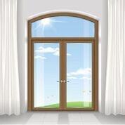 modello di finestra con infissi in legno