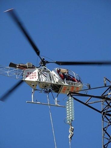 manutenzione linee elettriche