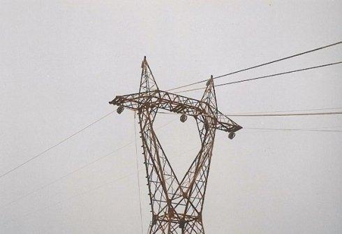 Riparazione antenne ad altissima tensione