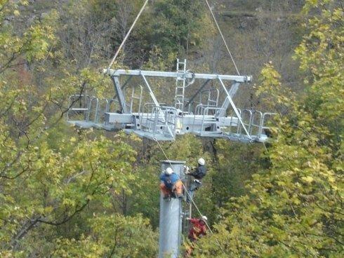 installation funicular railway