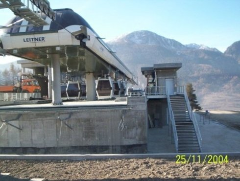 finished cableway system