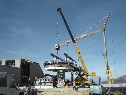 construction funicular railway