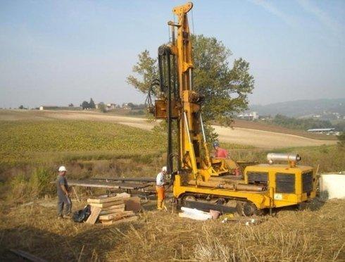 Indagini geologiche in corso