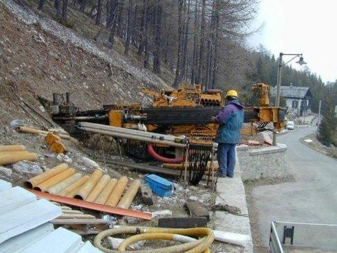 Consolidamento pareti di montagna