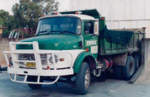 di prinzio concreting pty ltd errol truck