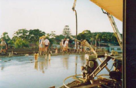 di prinzio concreting pty ltd concrete works