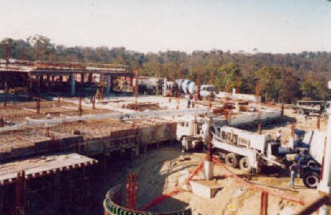 di prinzio concreting pty ltd hospital construction truck