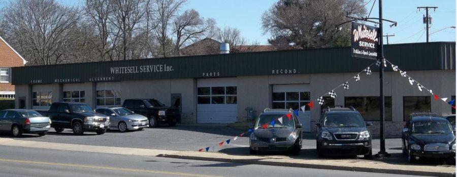 Shop where we provide car repairs in Waynesboro, VA