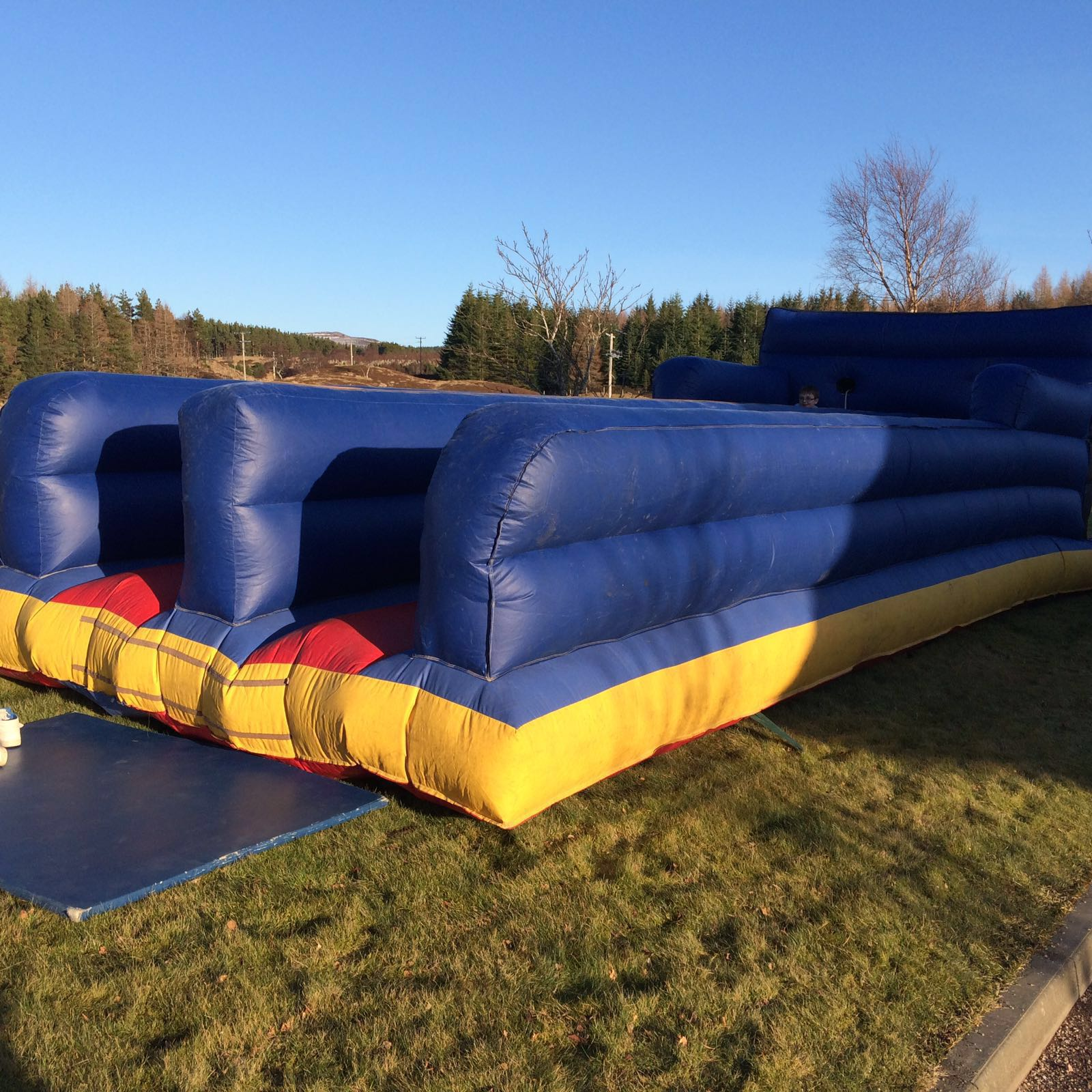 Children's play inflatables