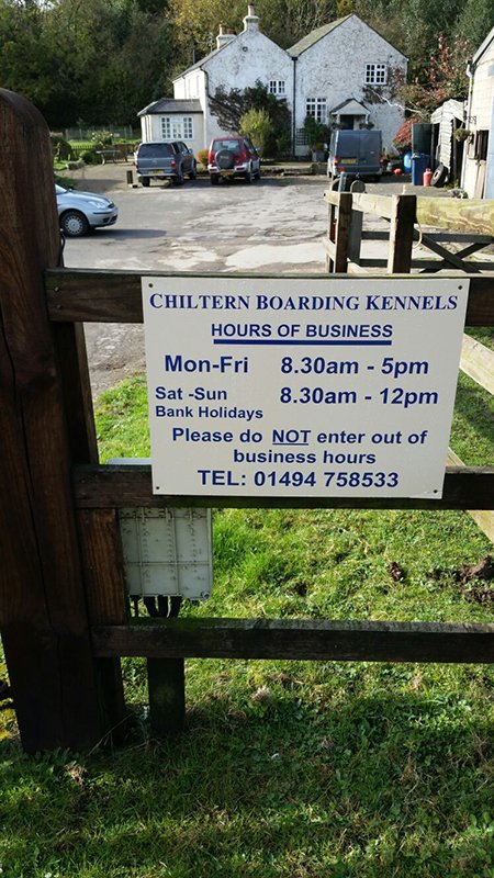 Chiltern Boarding Kennels board