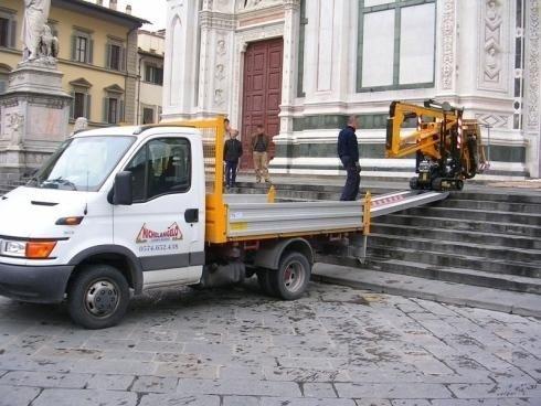 Nolerggio camion con gru
