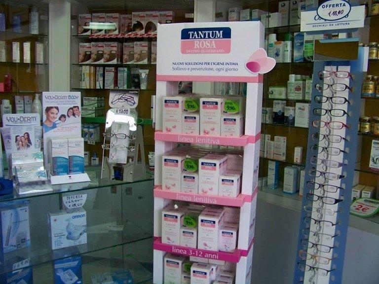 ampio assortimento farmaci