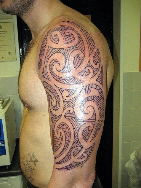 Tribal arm piece