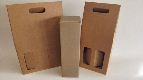 scatole per bottiglie vino
