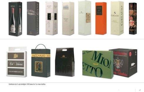 scatole litografate per vino