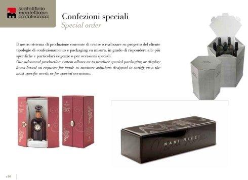 confezioni speciali per vino