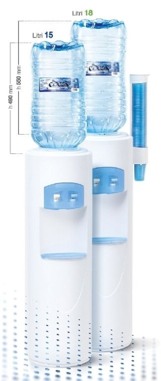 boccioni d'acqua per uffici