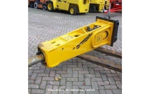 MARTELLO INDECO 2500  montato su ecavatore ql 215