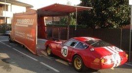 trasporto auto da corsa, trasporto auto d'epoca, bisarca