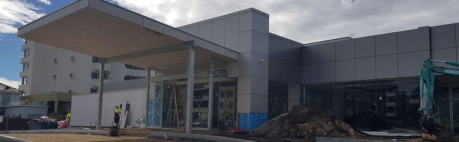 Eastport Bowling Club Port macquarie -  Commercial Cladding