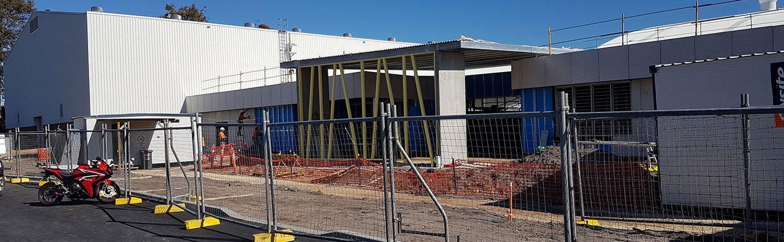 Basket Ball Indoor Sports Stadium Port macquarie -  Commercial Cladding