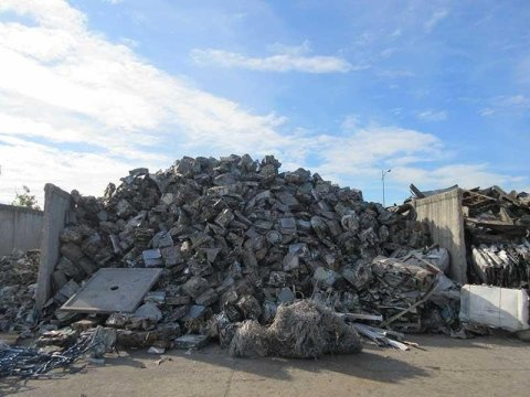 recuperación de materias primas