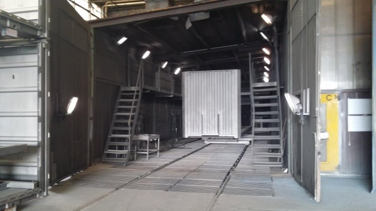 centro de almacenamiento de residuos metálicos