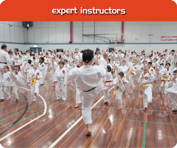 The best instructors for karate in Melbourne