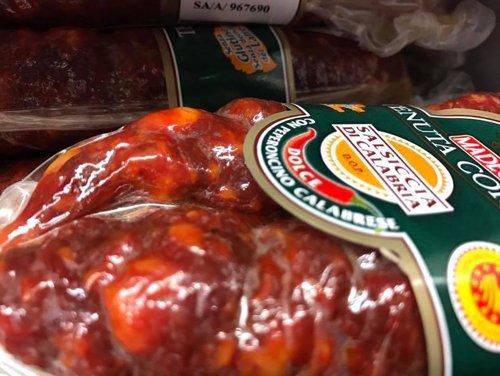 Salsiccia con peperoncino calabrese