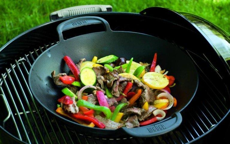 barbeque per verdure