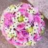 bouquet rosa fucsia