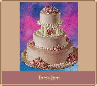 Torta Jem a 3 piani