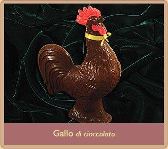 gallo pasquale di cioccolata