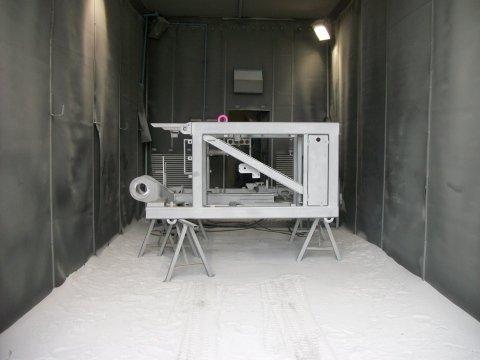 Cabina di palinatura acciai ferrosi