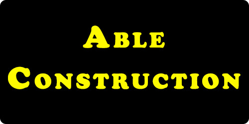 Able Construction logo