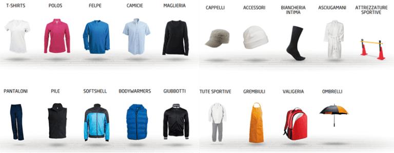 Linea Abbigliamento Kall