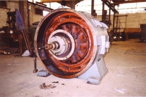 Riparazione e riavvolgimento di motori elettrici ed elettropompe