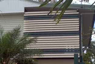 adjustable louvre awnings