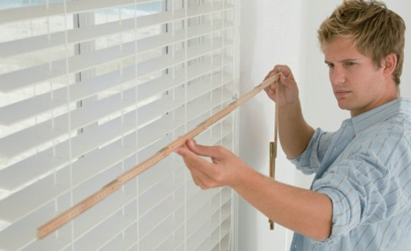 installing new blinds