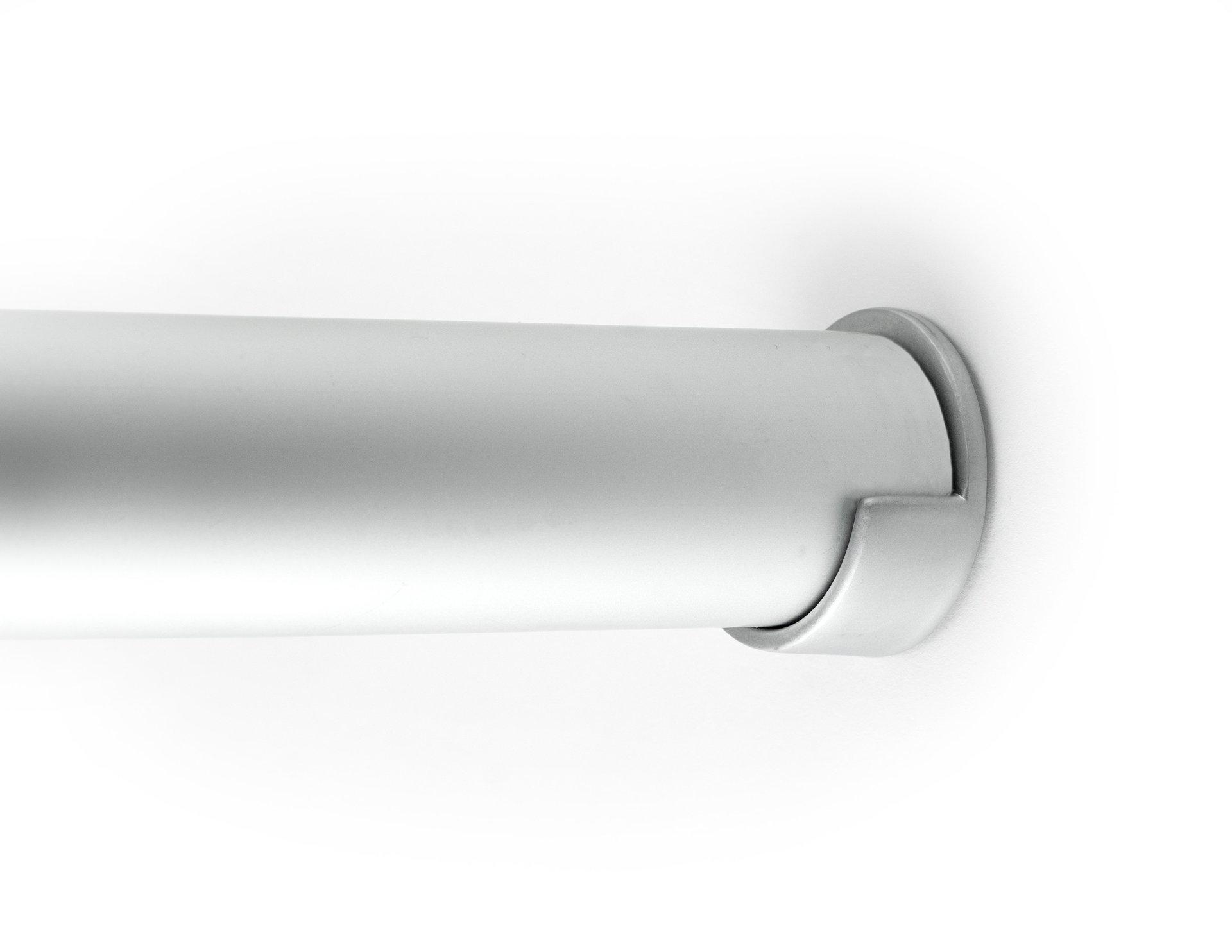 Brushed Chrome Closet Pole