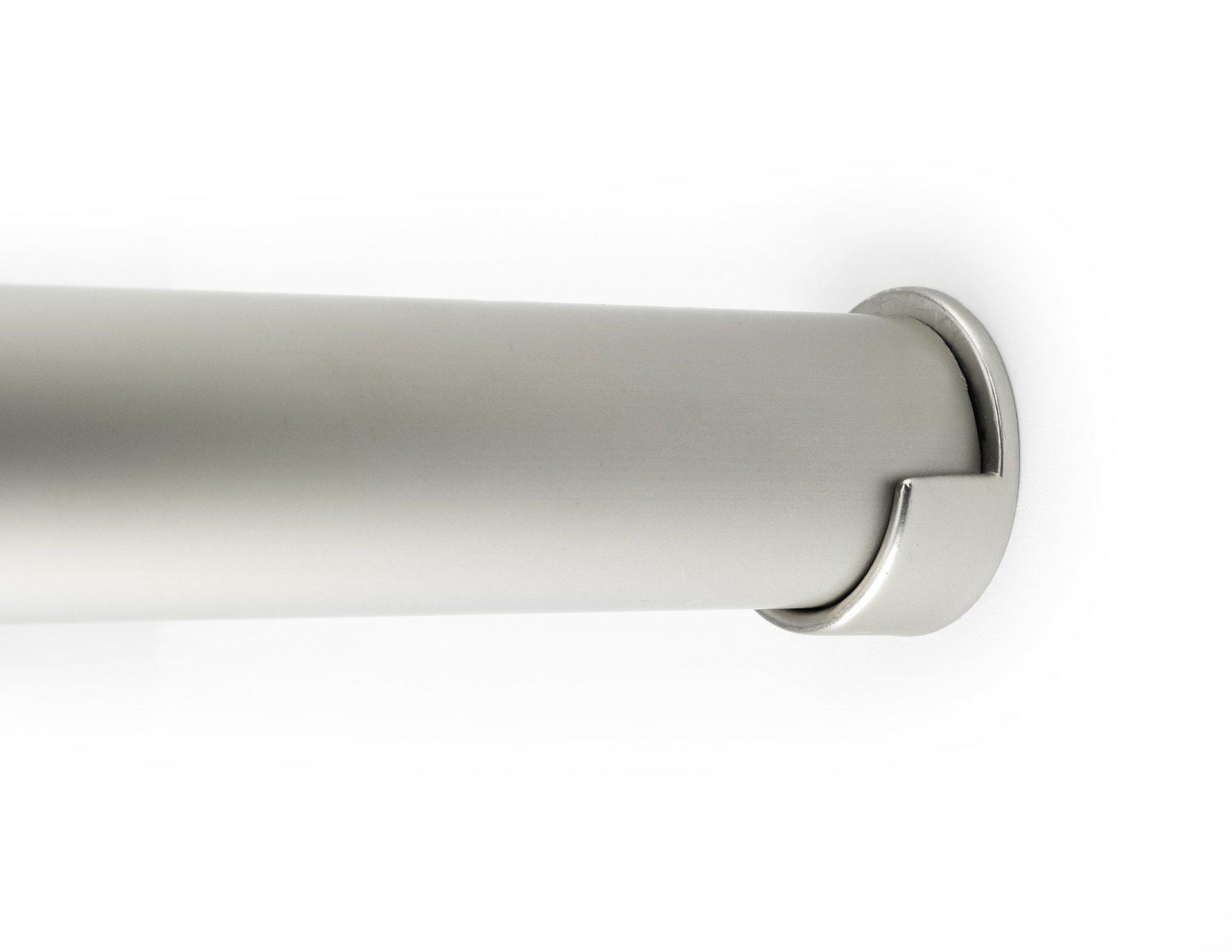 Satin Nickel Closet Pole