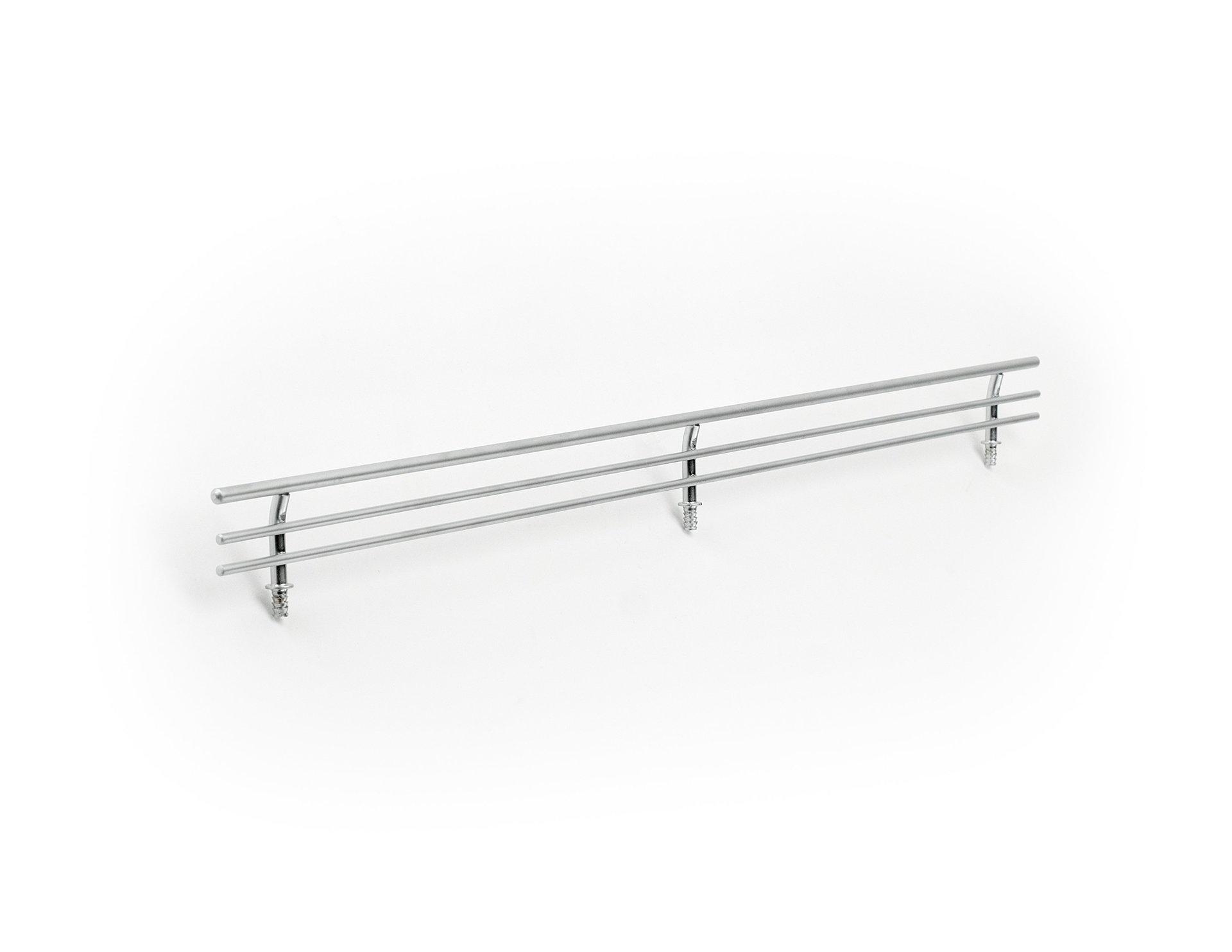 Chrome Shelf Fence