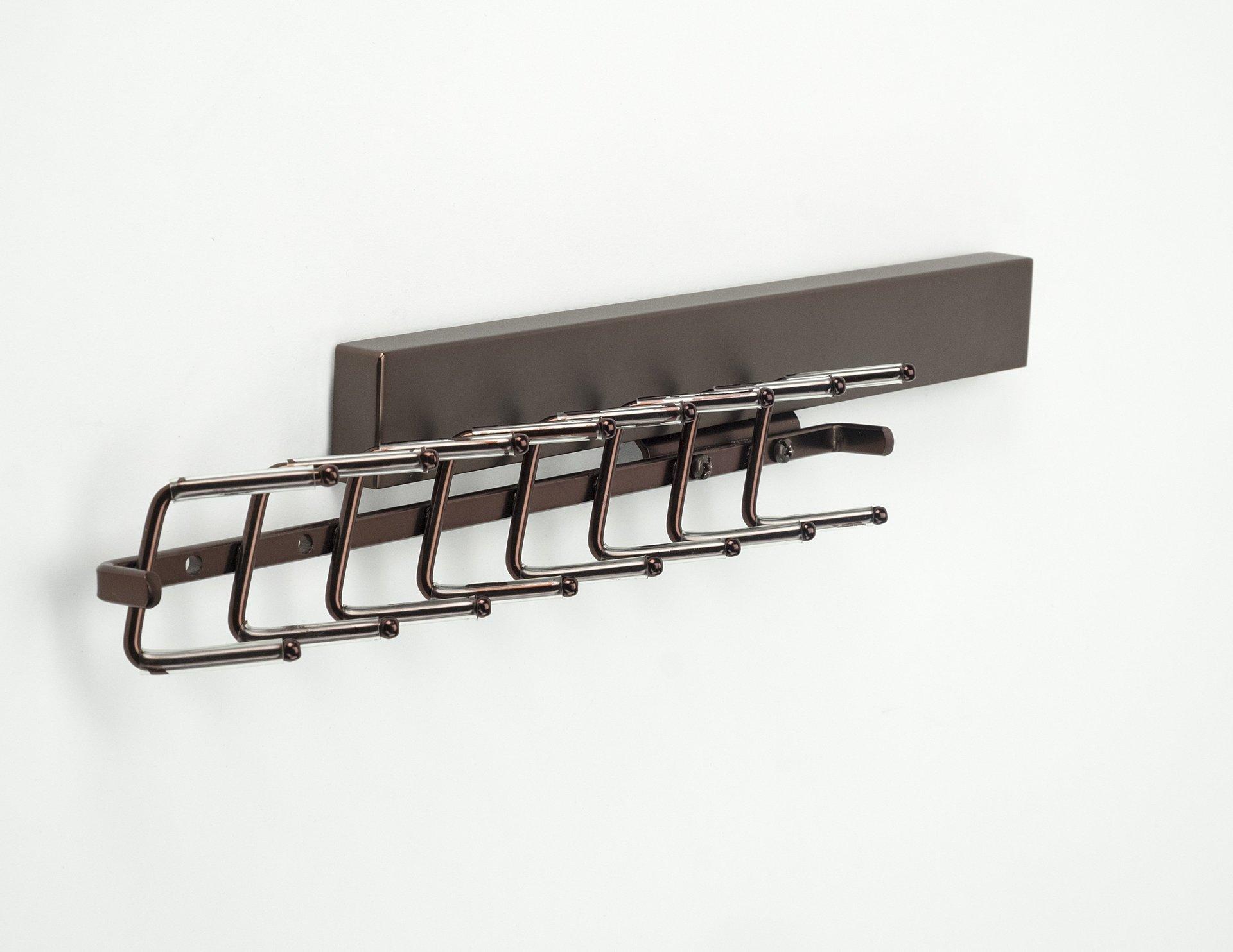 Bronze Tie Rack