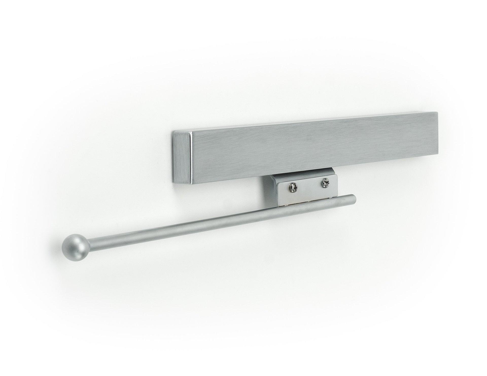 Brushed Chrome Valet Rod